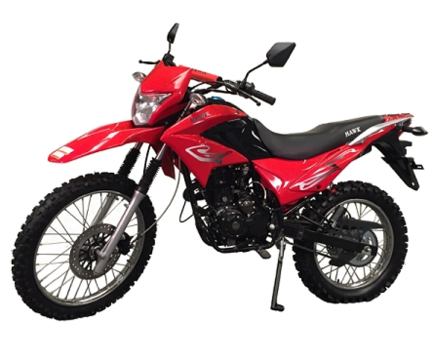 RPS Hawk 250cc Dirt Bike Red