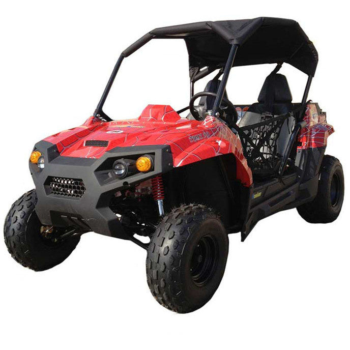 TrailMaster Challenger 150 Utility Vehicle Red Spider