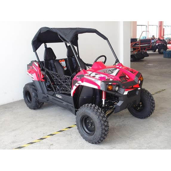 TrailMaster Challenger 300S Utility Vehicle Red