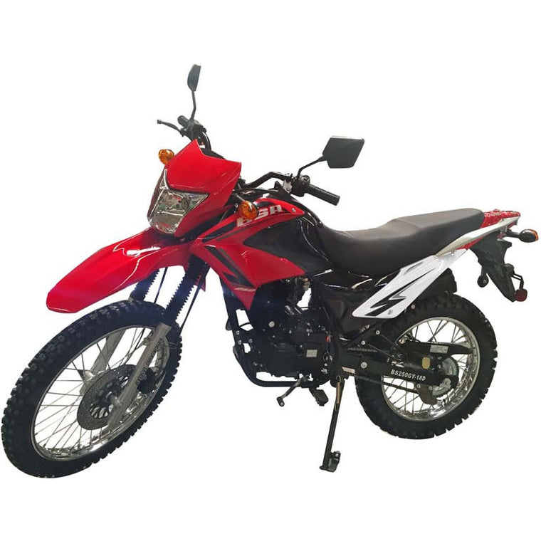 Roketa 41H 250cc Dirt Bike Red