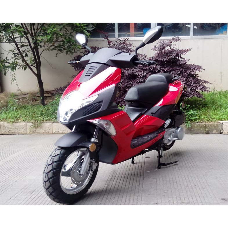Roketa 140 50cc Scooter Red