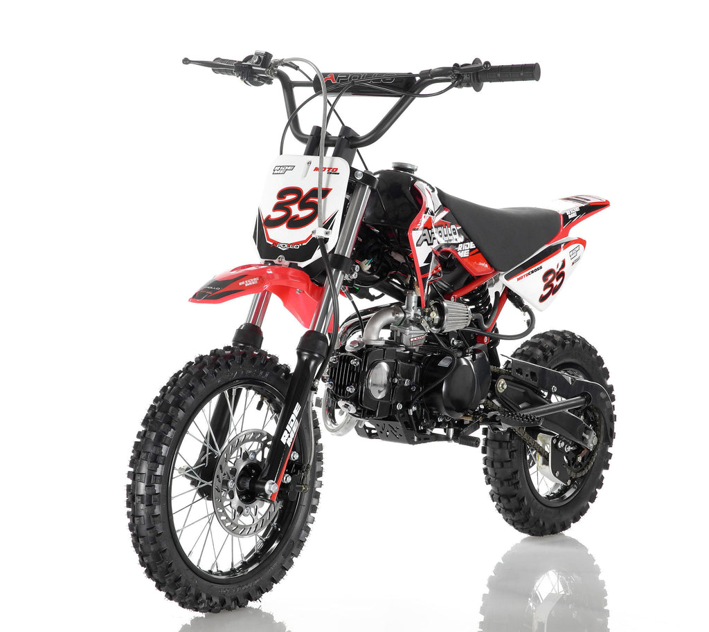 Apollo 35 125cc Dirt Bike Red