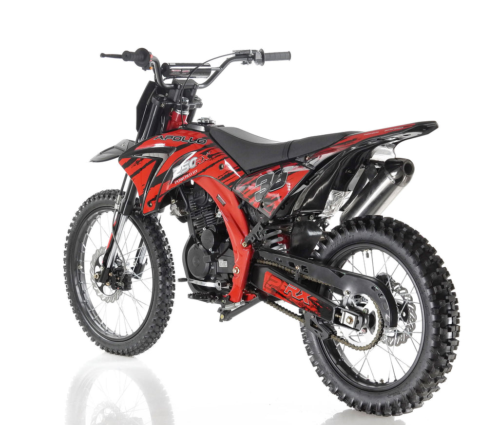 Apollo 36 Dirt Bike 250cc Red