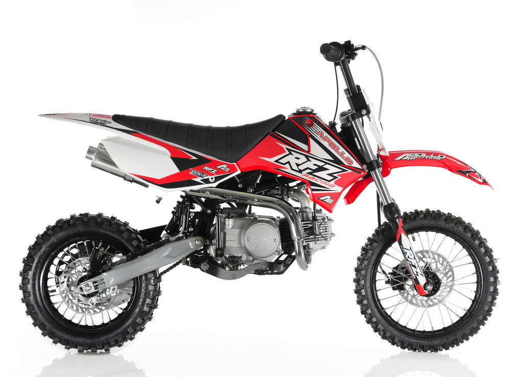 Apollo X4 110cc Dirt Bike Red