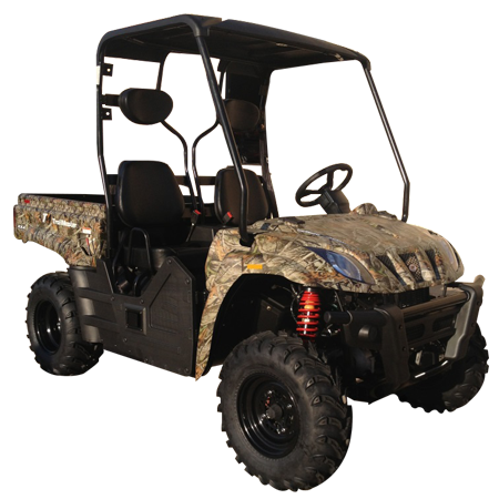 TrailMaster Taurus 400S Utility Vehicle Tree Camo