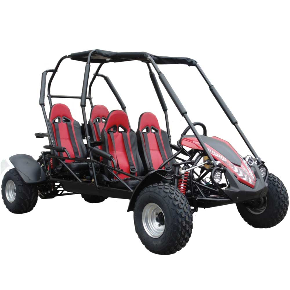 TrailMaster Blazer4 Go Kart Red
