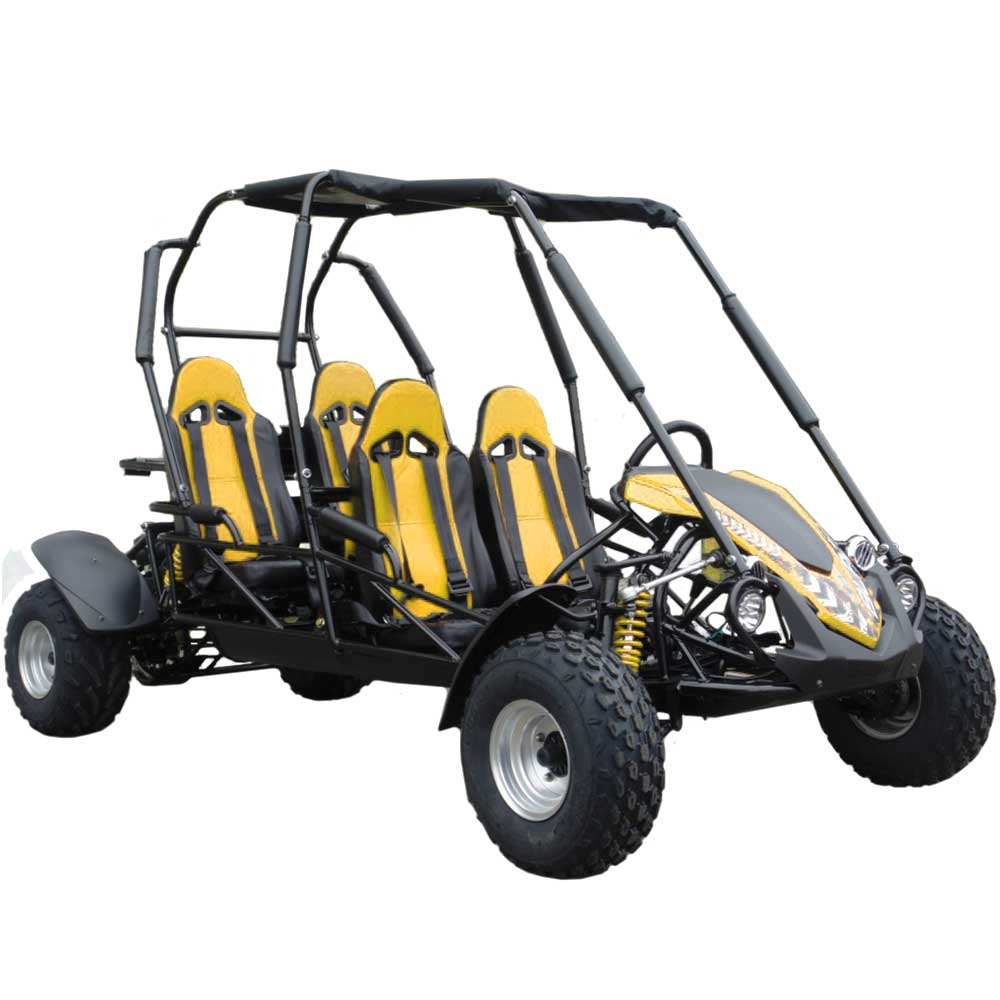 TrailMaster Blazer4 Go Kart Yellow