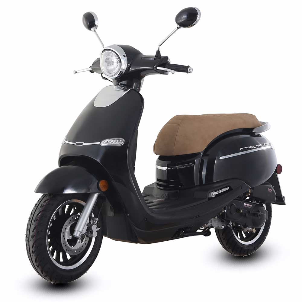 TrailMaster Turino 50A 50cc Moped Scooter