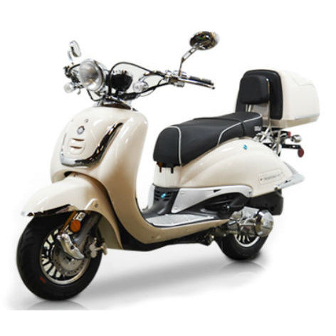 BMS Heritage 2 150cc Scooter White