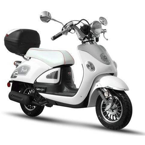 BMS Federal Scooter 50cc White