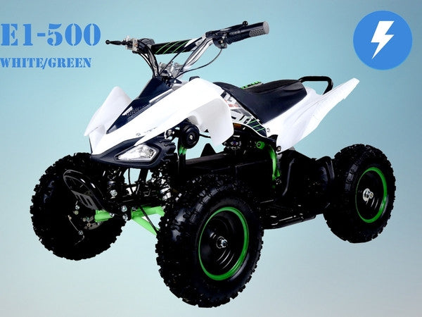 TAOTAO E1-500 Electric ATV White/Green