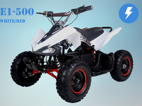 TAOTAO E1-500 Electric ATV White/Red
