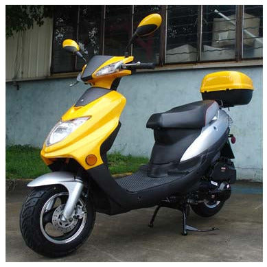 Roketa 123 150cc Scooter Yellow