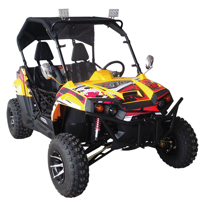 TrailMaster Challenger 150X Utility Vehicle Yellow