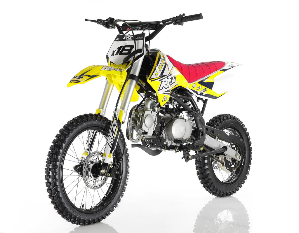 Apollo X18 125cc Dirt Bike Yellow