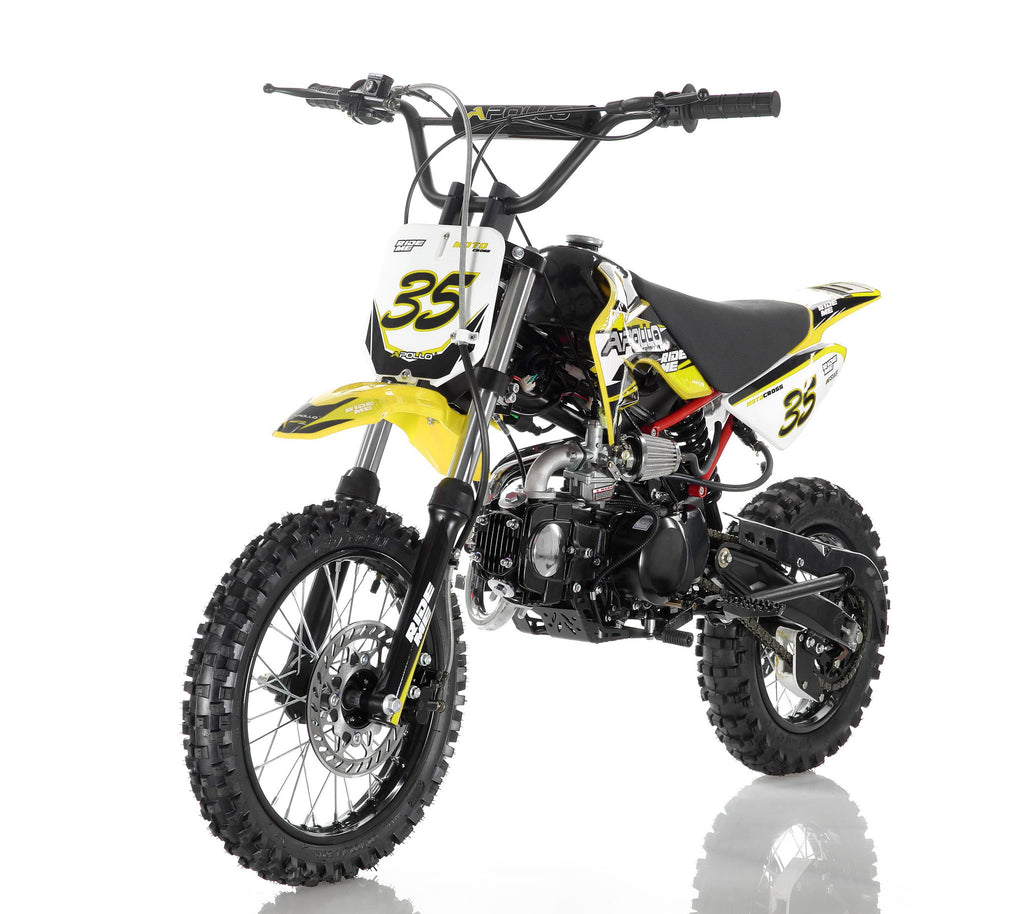 Apollo 35 125cc Dirt Bike Yellow