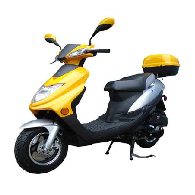 Roketa 121 150cc Scooter Yellow