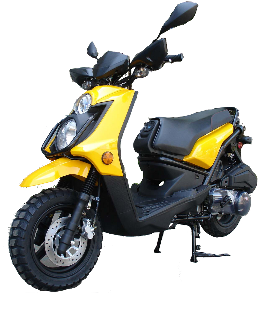 Roketa 119 150cc Scooter Yellow