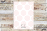 Birthday Invitation - Princess | Pink Polka Dots