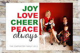 Holiday Card - Always with Photo