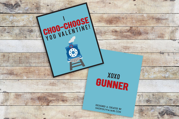 Valentines - I Choo-Choose You