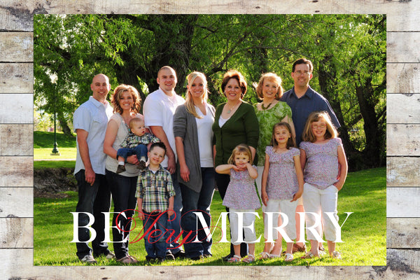 Holiday Card - Be Very Merry
