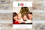 Holiday Card - Joy