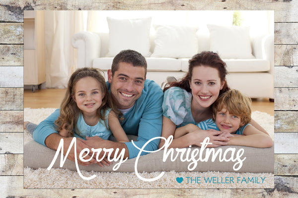 Holiday Card - Merry Christmas Photo Card