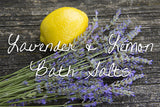 Bath Salt - Lavender & Lemon Detox