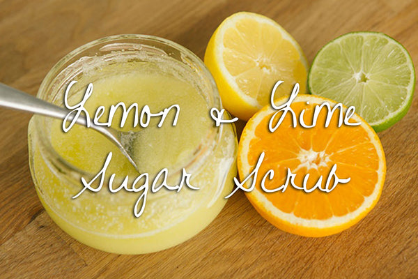 Sugar Scrub - Energizing Lemon & Lime