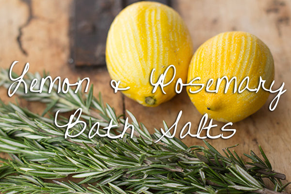 Bath Salt - Lemon & Rosemary Detox