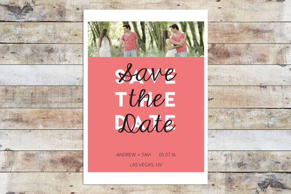 Save the Date - Whimsy