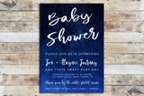 Baby Shower Invitation - Watercolor