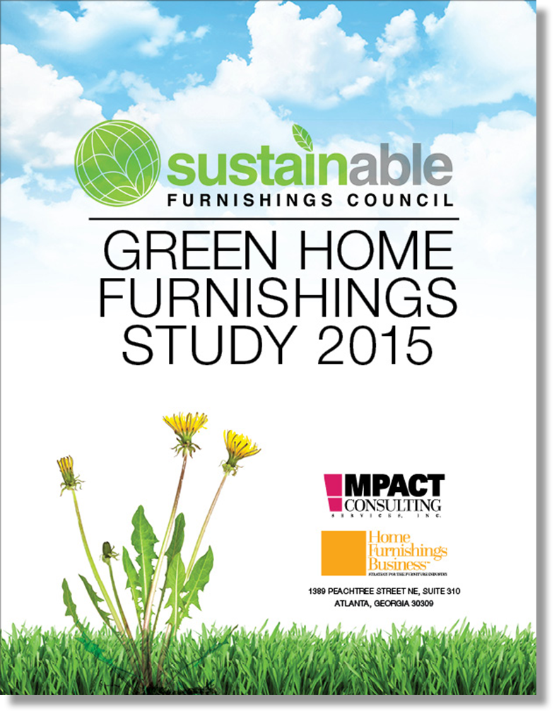Green Home Furnishings Study 2015