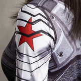 Women's Winter Soldier Compression Shirt - My Hero Swag