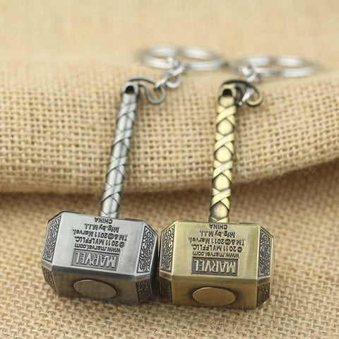 Thor Hammer Key Chain - My Hero Swag