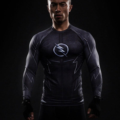 ZOOM Long Sleeve Compression Shirt - My Hero Swag