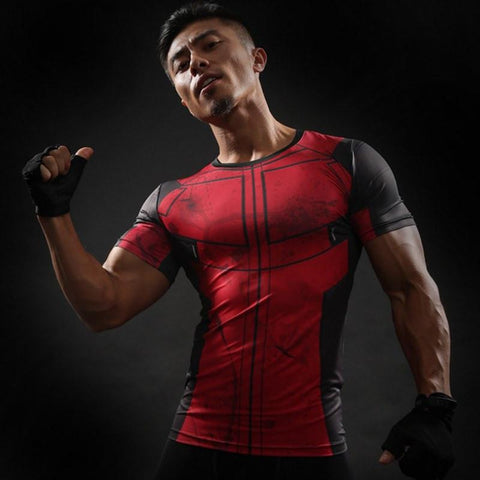 Deadpool Compression Shirt - My Hero Swag
