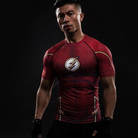 Flash Compression Shirt - My Hero Swag