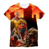 Saitama the Mighty Sublimation Unisex T-Shirt - My Hero Swag