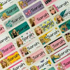 Barbie Character Small Name Stickers