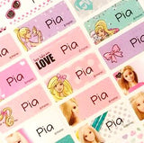 Waterproof Name Labels, Name Sticker, Character Labels, Barbie Medium Name Labels