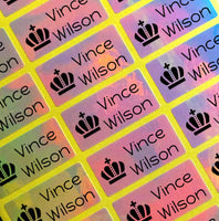 [Name Labels Name Stickers ] - Rainbow Labels
