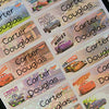 Car 2 Character Large Name Labels