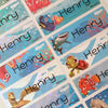 Finding Dory Character Large Name Labels
