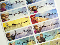 Disney Frozen Personalized Name labels