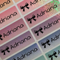 Waterproof Name Labels, Name Sticker, Daycare Labels, Camp Labels, School Labels