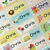 Happy Color Character Small 1 ★24 Name Stickers★