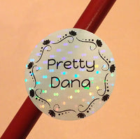 [Custom Name Sticker Name Labels Daycare Labels Camp Labels School Labels ] - Rainbow Labels