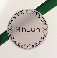 [Custom Name Sticker Name Labels Daycare Labels Camp Labels School Labels] - Rainbow Labels